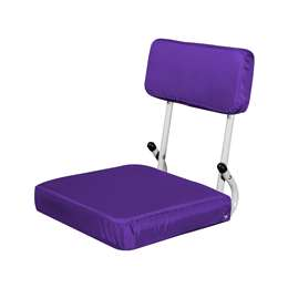 Plain Purple  Hardback Stadium Seat