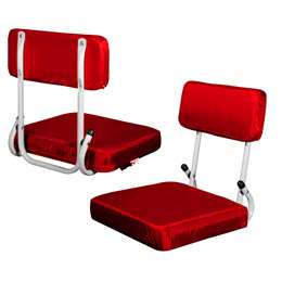 Red Hard Back Stadium Seat