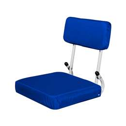 Plain Royal Blue Hardback Stadium Seat
