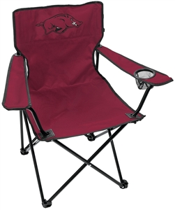 University of Arkansas Razorbacks Gameday Elite Chair with Matching Carry Bag 00563068111