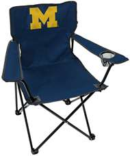 University of Michigan Wolverines Gameday Elite Chair with Matching Carry Bag 00563080111