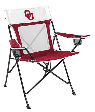 University of Oklahoma Sooners Gamechanger Chair with Matching Carry Bag 00643044111