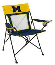 University of Michigan Wolverines Gamechanger Chair with Matching Carry Bag