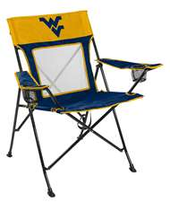 University of West Virginia Mountaineers Gamechanger Chair with Matching Carry Bag 00643113111