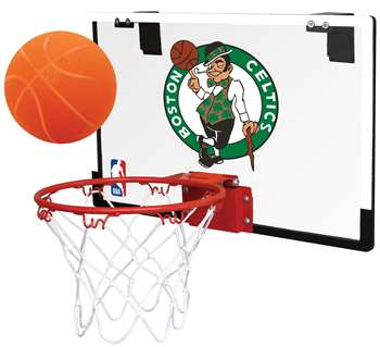Boston Celtics Basketball Hoop Set Indoor Goal