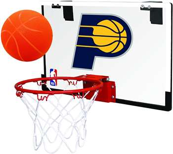 Indiana Pacers Basketball Hoop Set Indoor Goal