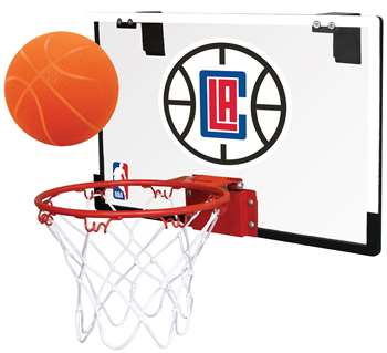 Los Angeles Clippers Basketball Hoop Set Indoor Goal