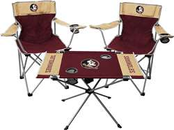 Florida State University Seminoles Tailgate Kit - 2 Chairs and 1 Table