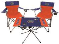 University of Florida Gators Tailgate Kit - 2 Chairs and 1 Table