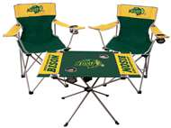 NCAA North Dakota State University  3 Piece Tailgate Kit - 2 Chairs - 1 Table