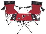NFL Atlanta Falcons  3 Piece Tailgate Kit - 2 Chairs - 1 Table