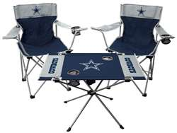 Dallas Cowboys Tailgate Kit 2 Chairs - 1 Table