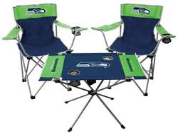 Seattle Seahawks Tailgate Kit 2 Chairs - 1 Table