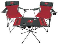 Tampa Bay Buccaneers Tailgate Kit 2 Chairs - 1 Table