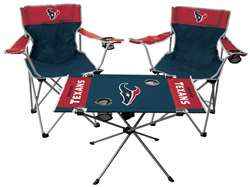 Houston Texans Tailgate Kit - 2 Chairs and 1 Table