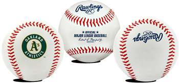 Oakland Athletics  Rawlings Team Logo Baseball