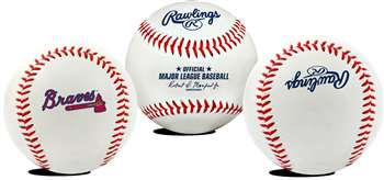 Atlanta Braves  Rawlings Team Logo Baseball