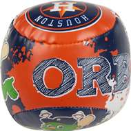 Houston Astros Quick Toss 4 inch Softee Baseball
