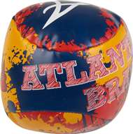 Atlanta Braves Quick Toss 4 inch Softee Baseball