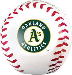 Oakland Athletics Jumbo 8 inch Softee Baseball