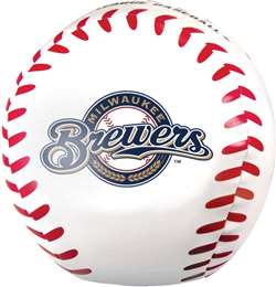 Milwaukee Brewers Jumbo 8 inch Softee Baseball
