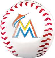 Miami Marlins Jumbo 8 inch Softee Baseball