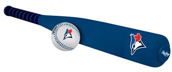 MLB Toronto Blue Jays Foam Baseball Bat & Ball Set