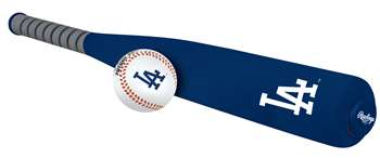 Los Angeles Dodgers Foam Softee Baseball Bat and Ball