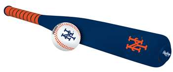 New York Mets Foam Softee Baseball Bat and Ball