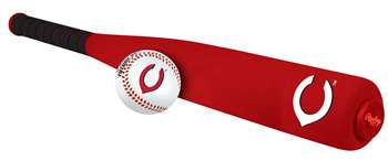 Cincinnati Reds Foam Softee Baseball Bat and Ball