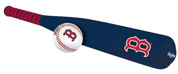 MLB Boston Red Sox Foam Baseball Bat & Ball Set