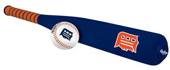 MLB Detroit Tigers Foam Bat & Ball Set
