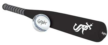 Chicago White Sox Foam Softee Baseball Bat and Ball