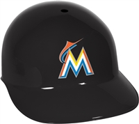 Miami Marlins Full Size Replica Batting Helmet - Rawlings