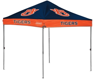 Auburn University Tigers 10 x 10 Straight Leg Canopy with Carry Bag - Rawlings