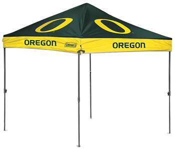 University of Oregon Ducks 10 x 10 Straight Leg Canopy with Carry Bag - Rawlings