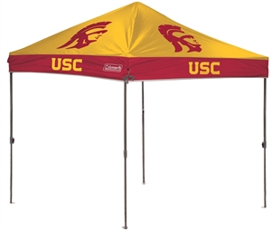 USC Trojans 10 x 10 Straight Leg Canopy with Carry Bag - Rawlings