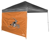 Cleveland Browns 10 X 10 Straight Leg Shelter Wall for Coleman