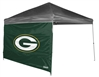 Green Bay Packers 10 X 10 Straight Leg Shelter Wall for Coleman