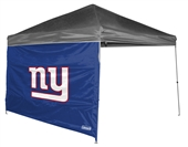 New York Giants 10 X 10 Straight Leg Shelter Wall for Coleman