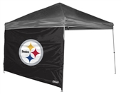 Pittsburgh Steelers 10 X 10 Straight Leg Shelter Wall for Coleman