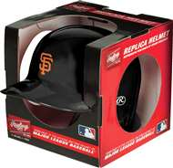 San Francisco Giants  Replica Mini Autograph Batting Helmet with Stand
