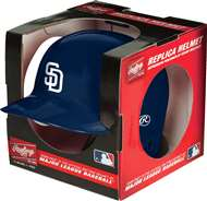 San Diego Padres  Mini Replica Batting Helmet Autograph with Stand