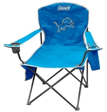 Detroit Lions Cooler Quad Folding Chair