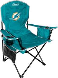 Miami Dolphins Cooler Quad Folding Chair