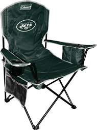 New York Jets Cooler Quad Folding Chair