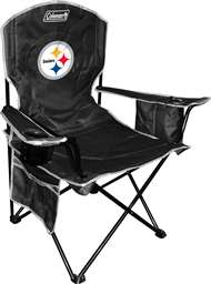 Pittsburgh Steelers Cooler Quad Folding Chair