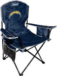 Los Angeles Chargers Cooler Quad Folding Chair