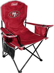 San Francisco 49ers Cooler Quad Folding Chair