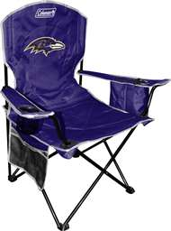 Baltimore Ravens Cooler Quad Folding Chair
